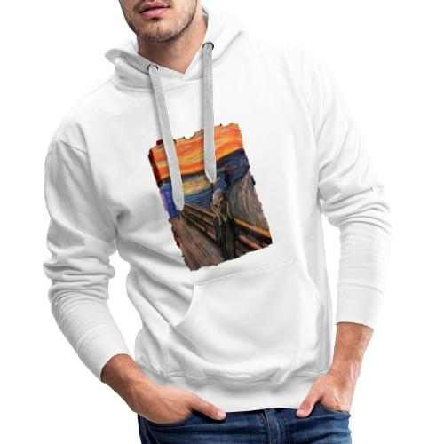 Screaming Tardis - Men's Premium Hoodie