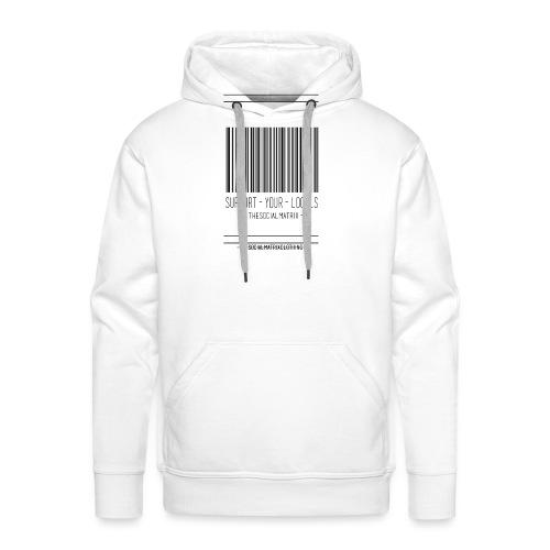 STEUN JE LOKAAL - Mannen Premium hoodie