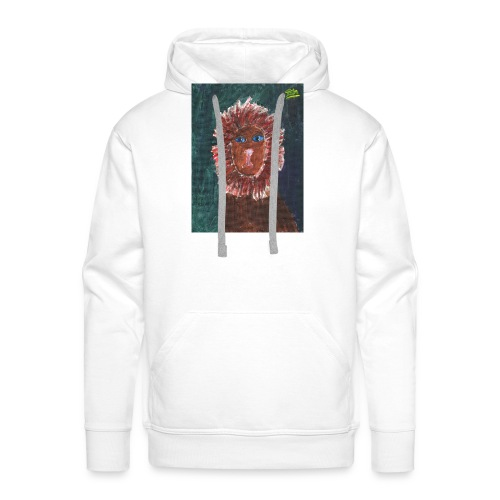 Lion T-Shirt By Isla - Men's Premium Hoodie