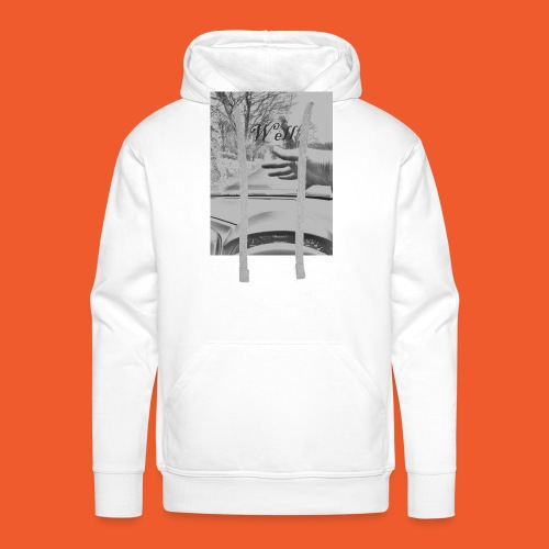 Well wave T-Shirt - Men's Premium Hoodie