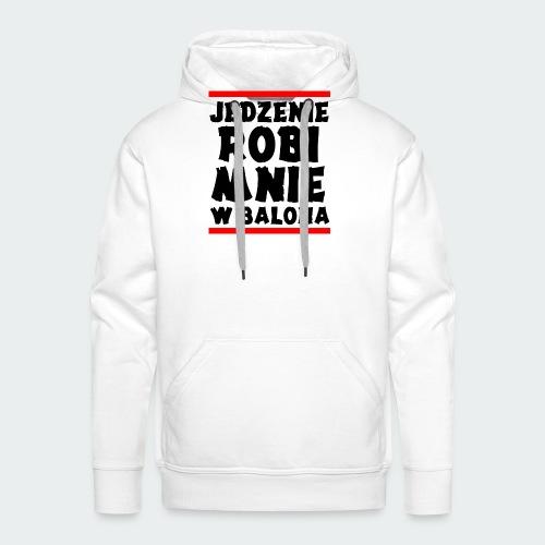 Damska Koszulka Premium JRBWB - Bluza męska Premium z kapturem