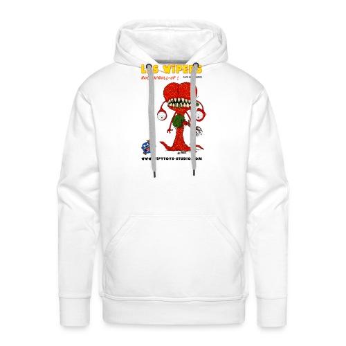 BD Les WIPERS licence6 - Sweat-shirt à capuche Premium pour hommes