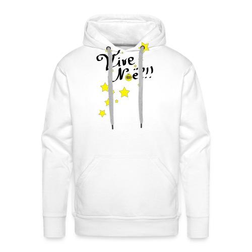 Vive Noël !! - Sweat-shirt à capuche Premium pour hommes