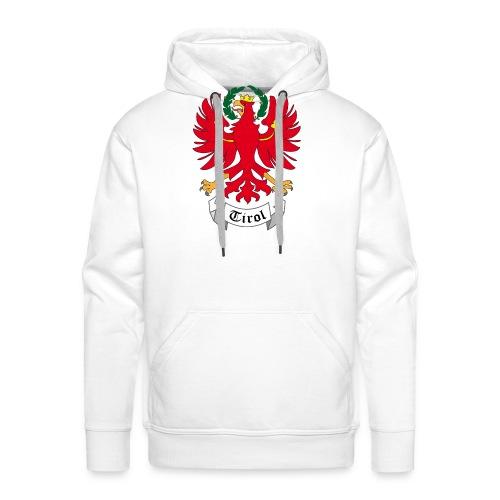 Tiroler Adler - Felpa con cappuccio premium da uomo