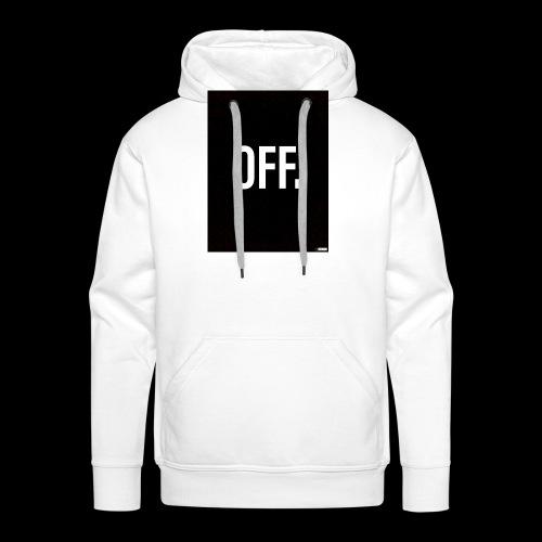 OFF. - Sweat-shirt à capuche Premium pour hommes