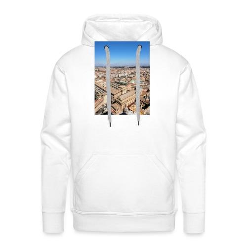 Roma - Sudadera con capucha premium para hombre