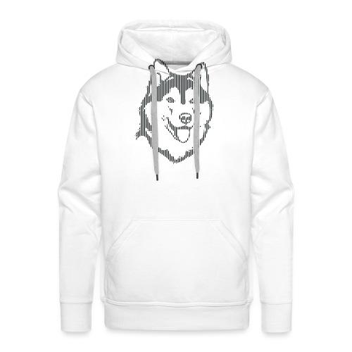 ALASKA RAYAS - Sudadera con capucha premium para hombre