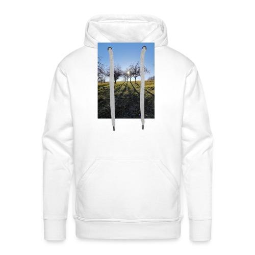 Winterbäume - Männer Premium Hoodie
