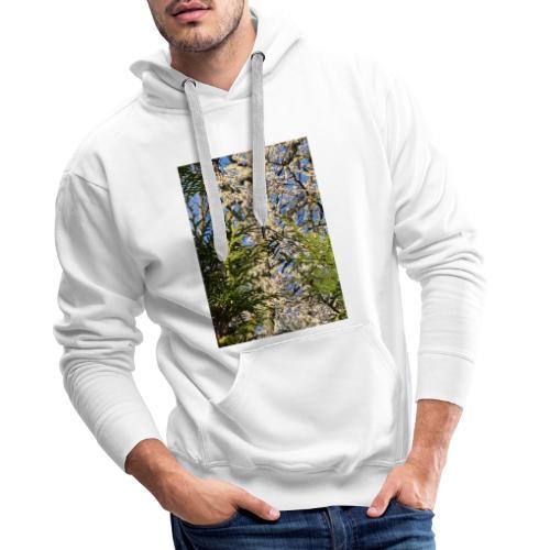 Spring Time - Herre Premium hættetrøje