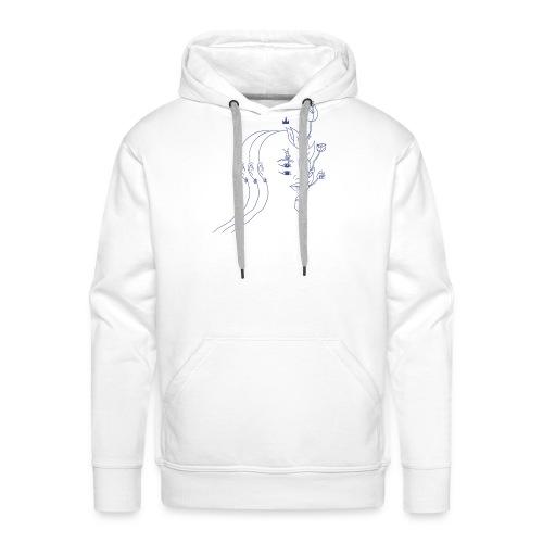 DECRESCENDO - Sweat-shirt à capuche Premium pour hommes