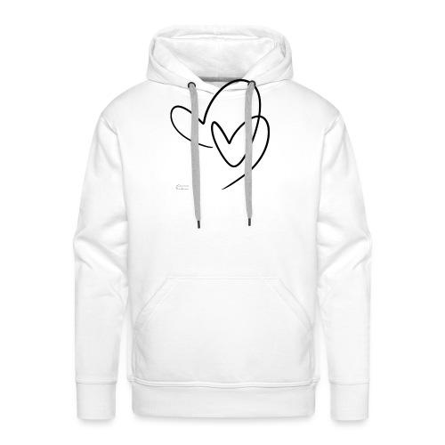 Lovers - Sudadera con capucha premium para hombre