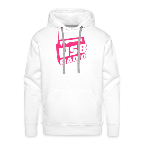 NSB Classic on Sky Blue T - Men's Premium Hoodie