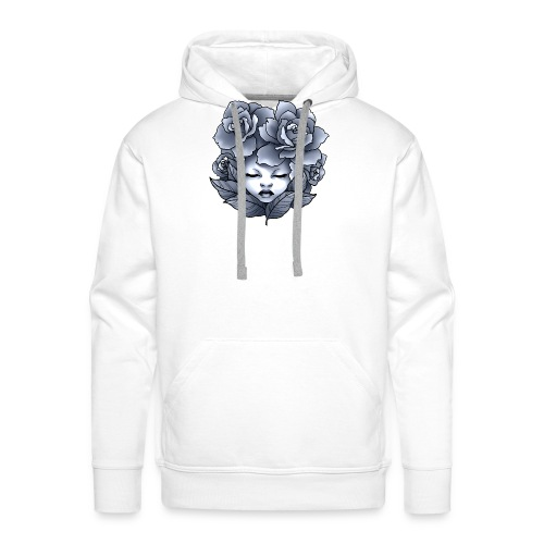Flower Head - Sweat-shirt à capuche Premium pour hommes