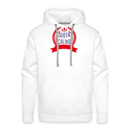 Queen of câlins wcol - Sweat-shirt à capuche Premium pour hommes