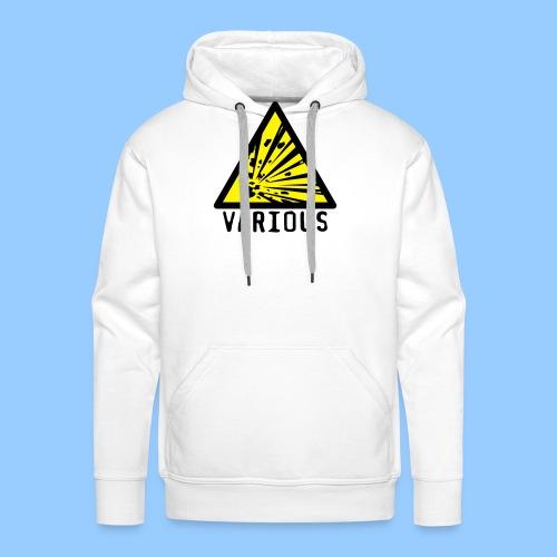 VariousExplosions Triangle (2 colour) - Men's Premium Hoodie