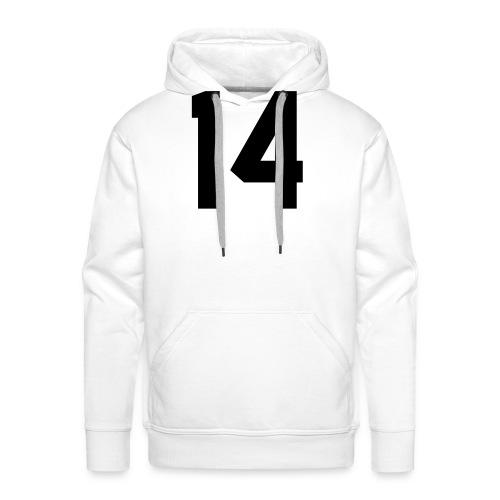 14 - Mannen Premium hoodie