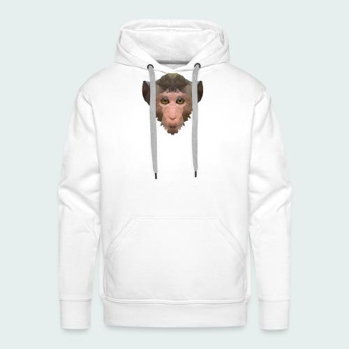 Polygon Monkey - Men's Premium Hoodie