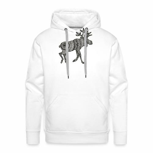 Ethno - Moose - Männer Premium Hoodie