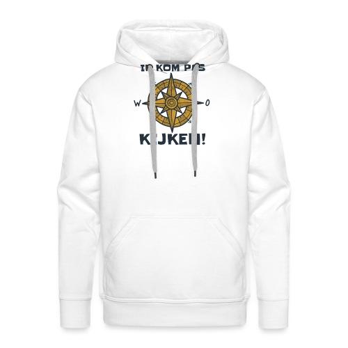 ik kompas kijken - Mannen Premium hoodie