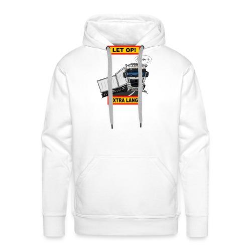0850 extra lang - Mannen Premium hoodie