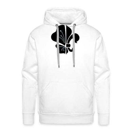logo tradi beach NB - Sweat-shirt à capuche Premium pour hommes