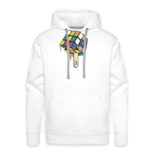 Rubik's Cube Ice Lolly - Men's Premium Hoodie