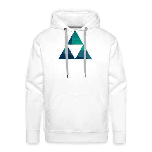 Triforce - Sweat-shirt à capuche Premium pour hommes