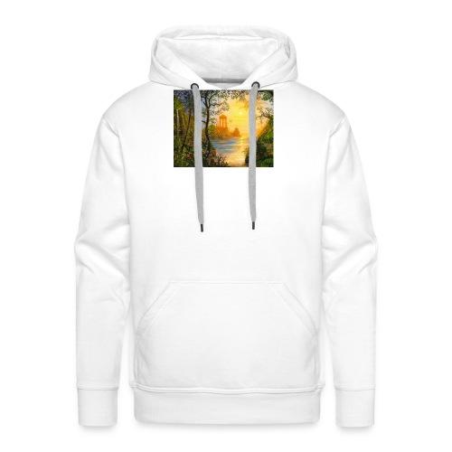 Temple of light - Men's Premium Hoodie