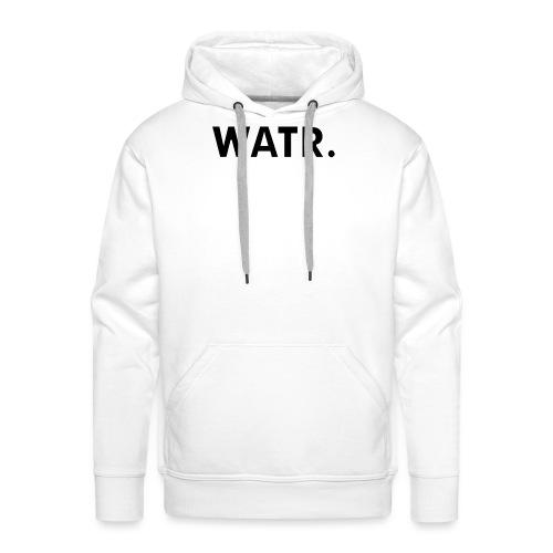 watr groot - Mannen Premium hoodie
