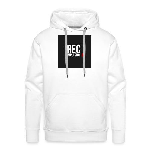 REC - Sweat-shirt à capuche Premium pour hommes