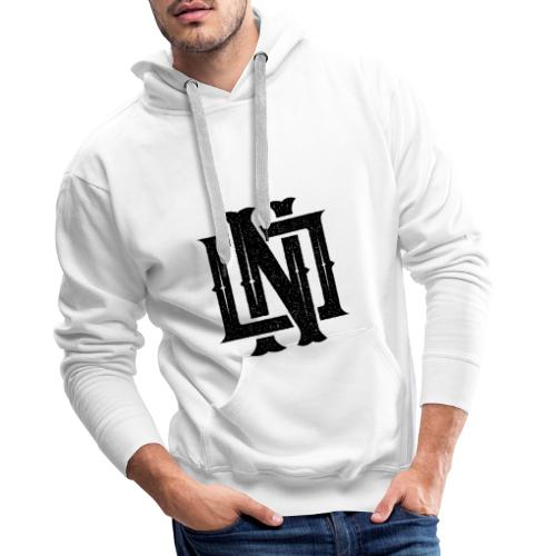 Nineone Monogram NO 01 black - Männer Premium Hoodie