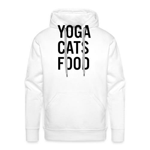 YOGA CATS FOOD LADIES ORGANIC T-SHIRT - Premiumluvtröja herr