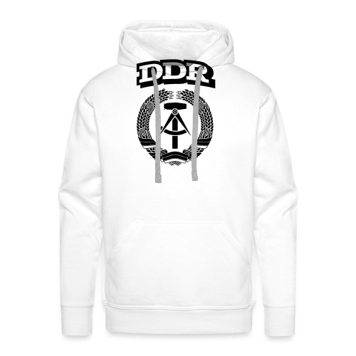 DDR T-paita - Miesten premium-huppari