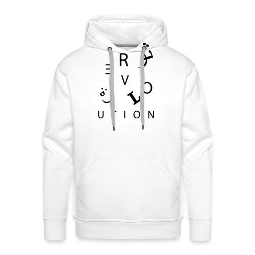 Revolution (auch auf arabisch) - Männer Premium Hoodie