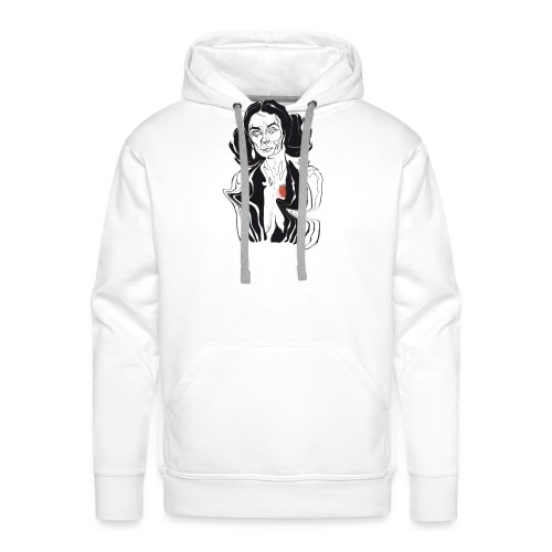Hello - Mannen Premium hoodie
