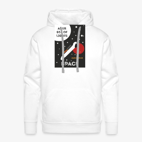 #ADURSOL18 Space Theme - Men's Premium Hoodie