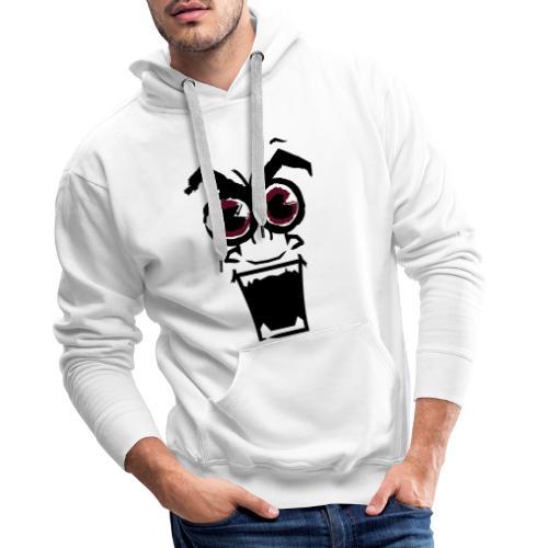 crazybob - Sweat-shirt à capuche Premium pour hommes