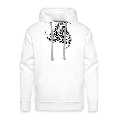 corne de odin - Sweat-shirt à capuche Premium pour hommes