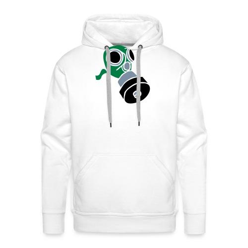Gasmaske poison gas mask fallout giftgas BondageSM - Männer Premium Hoodie