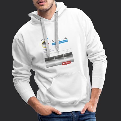 Don't follow me in the lost too - Men's Premium Hoodie
