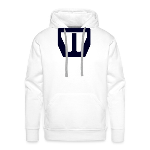 oie transparent navy groot png - Mannen Premium hoodie