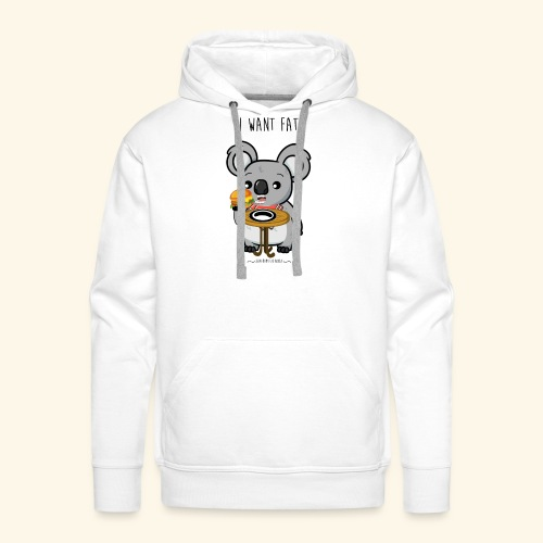 i want fate - Sweat-shirt à capuche Premium pour hommes