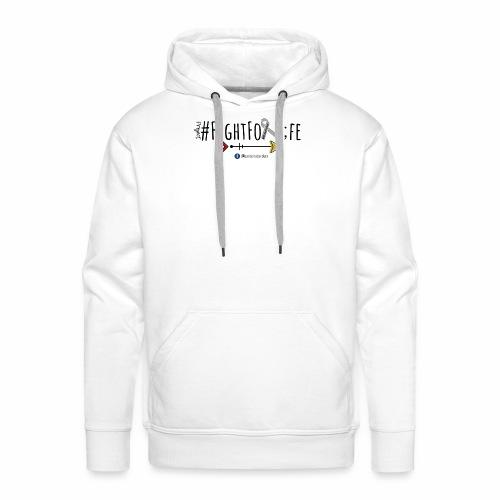#FightForLife01 - Men's Premium Hoodie