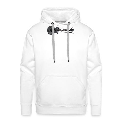 Tasse - schwarz - Hackisan-Logo vorne u. hinten - Männer Premium Hoodie