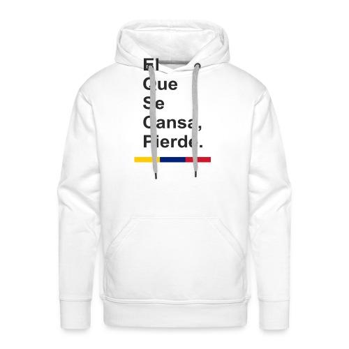 cansa pierde png - Sudadera con capucha premium para hombre
