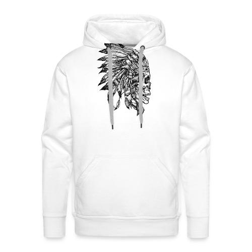 Skull WF2 - Sweat-shirt à capuche Premium pour hommes