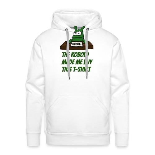 Kobold made me buy - Men's Premium Hoodie