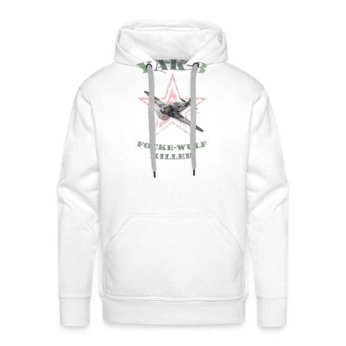 YAK n6 FWkiller15 copie2 - Sweat-shirt à capuche Premium pour hommes