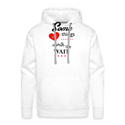 Some things - Mannen Premium hoodie