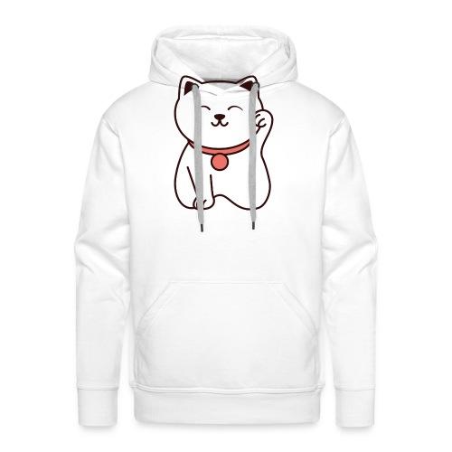Chat mignon - Sweat-shirt à capuche Premium pour hommes